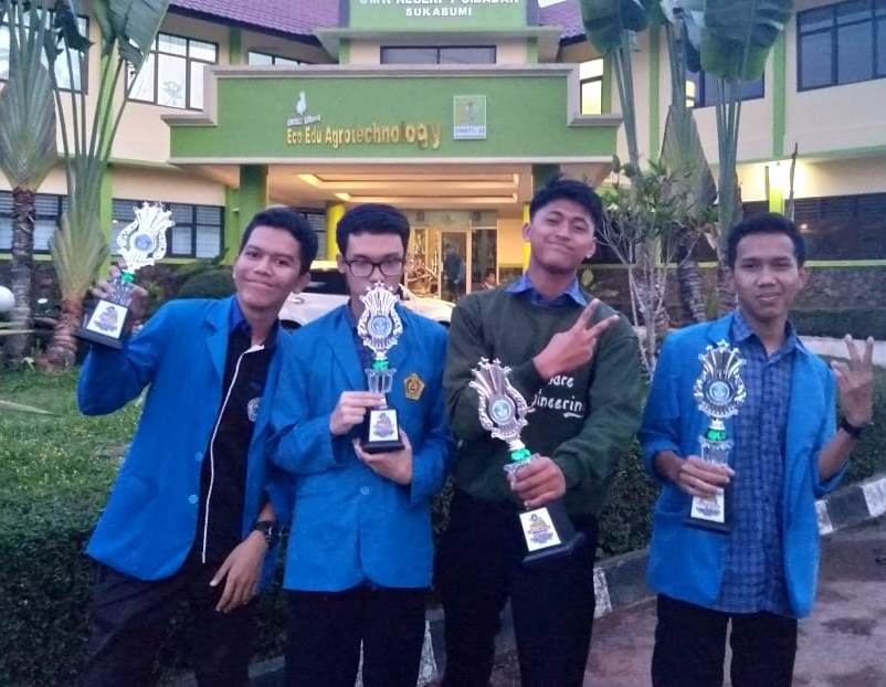 Juara Ke-2 LKS IT Software Solution For Business Tingkat Kabupaten Sukabumi Tahun 2019